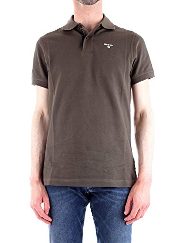 Barbour Luxury Fashion Herren BAPOL0119GREEN Grün Baumwolle Poloshirt | Jahreszeit Outlet