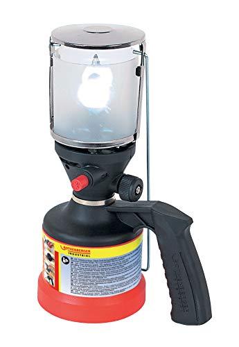 ROTHENBERGER Industrial Scout Campinglampe inkl. 3 x Glühstrumpf & elektr. Piezozündung 35902