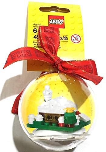 LEGO- EXC Natale Pallina Con Capanna Natalizia, 850949