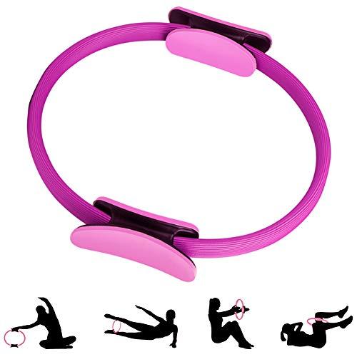 ShineBlue - Anillo de doble asa para pilates, ejercicio, círculo para...