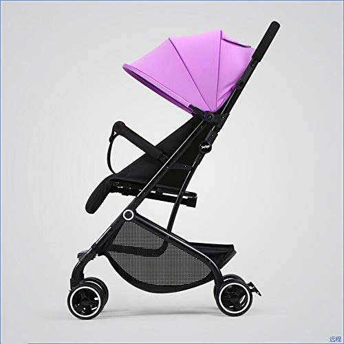 Best Buy! Baby Carriage Baby Stroller Ultra Light Folding Simple Children's Trolley Can Sit Reclinin...