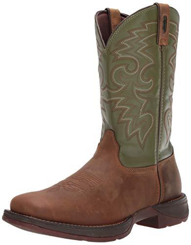 Durango mens Men's Rebel Cactus Db5416 western boots, Coffee/Cactus, 11.5 US