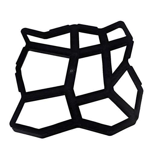 ShenyKan Diy Personalidad irregular Carril de pavimentación Molde de piso Molde de piso Molde de pavimento de jardín Molde de piso de plástico