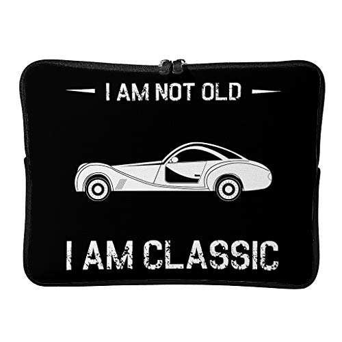 Regular I Am Not Old I Am Classic Laptop Bags Large Modern Tablet Sleeve Suitable for Business Trip White 10 Zoll