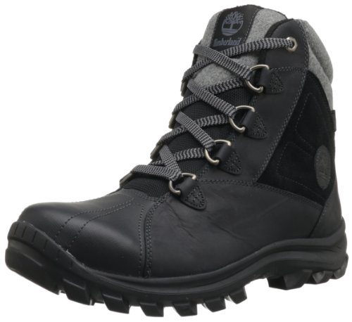 Hot Sale Timberland Men's Chillberg Mid Waterproof Boot,Black,10 M US