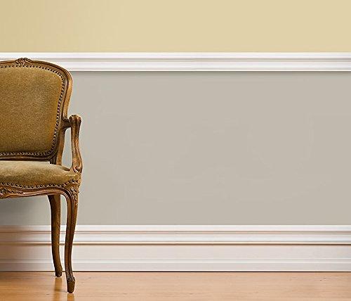 Hohe Wandleiste aus Massivholz von Golddecor | Made in Germany | zur Ergänzung der Fußleisten von Golddecor Julia, Clara und Victoria