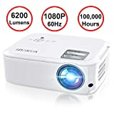 Best 1080 Projectors - Projector, WiMiUS P21 6200 Lumens Video Projector Native Review