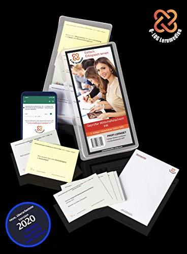 Lernkarten (838 Stück, gedruckt A7) + App + Box für den Geprüften Wirtschaftsfachwirt IHK | Auflage 2020 | Komplettsatz mit allen 9 Fächern