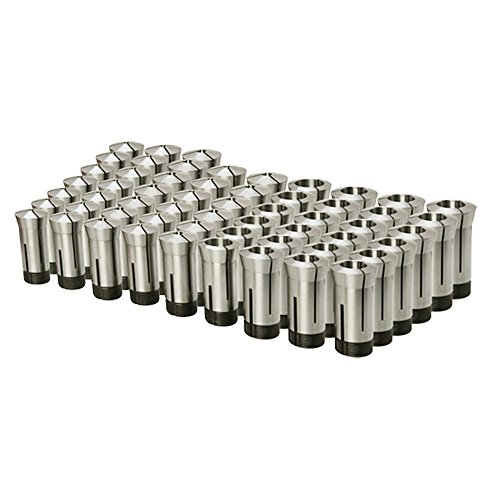 "15 PC 1/8'' to 1'' 5C ROUND Collet Set by 16ths Harden Machinist Tool .0006"" TIR"