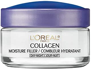 L'Oreal Paris Collagen Moisture Filler Day/Night Cream, 1.7 Ounce (Pack of 2)