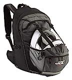 JDC - Mochila para moto (impermeable, con compartimento para el casco, 24-36 l) - Frontier