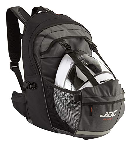 JDC Motorcycle Waterproof Rucksack With Helmet Holder/Carrier - 24L...