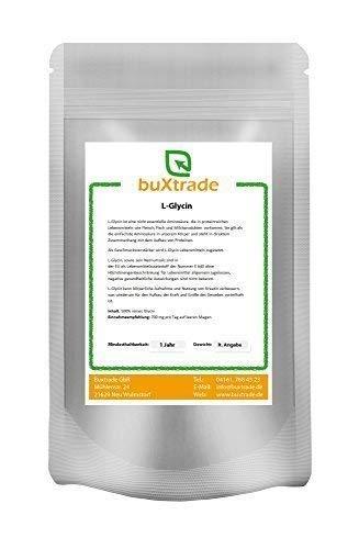 500 g Glycin | L-Glycin | proteinogene Aminosäure | E640 | Pulver |