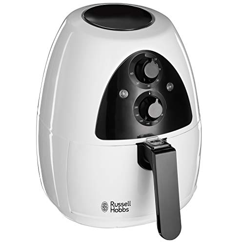 An image of the Russell Hobbs 20810 Purifry Air Fryer - Roast, Bake or Fry with No Oil Required, Two Litre Capacity, White