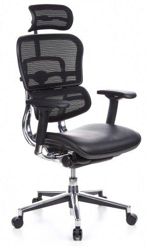 hjh OFFICE 652620 Luxus Chefsessel ERGOHUMAN...
