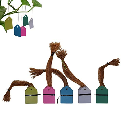 irriga 60 stks Planten Hang Tag Etiketten En Merken Seedling Tuin Bloem Pot Plastic Tag Nummer Plaat Ophangbaar Herbruikbare Pvc Tool