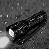 LED Taschenlampe, Vansky® Handlampe Tactical Flashlight Handlampe Justierbare Fokus-Summen Taschenlampen für Outdoor Sports, 3 x AAA Batterien im Lieferumfang enthalten - 6