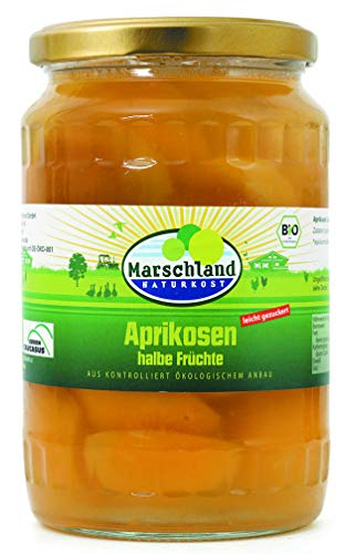 Marschland Bio-Aprikosen, 6 stück