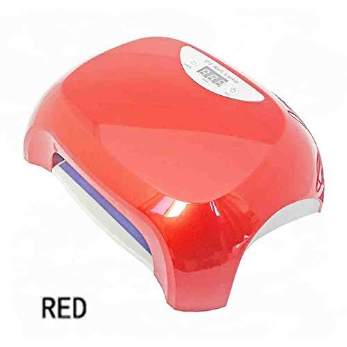 Lampes UV LED Nail Dryer Affichage Numérique Synchronisation Induction Phototherapy Lampe Portable Ne Pas Blesser La Lampe À Ongles Main 220 v,red