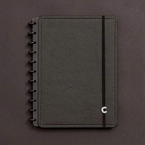 Caderno Inteligente, Grande, Black Ecológico, 215x280mm, 80 Folhas