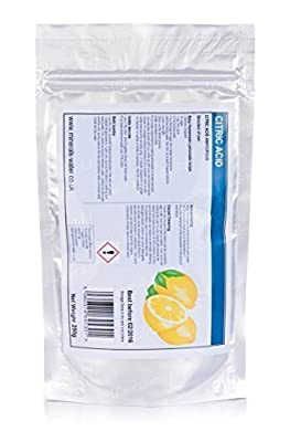 250g Citric acid powder anhydrous★food grade★bath bomb★descaler★highest quality★Make sure to checkout with Minerals-water.ltd to get what's on the picture★