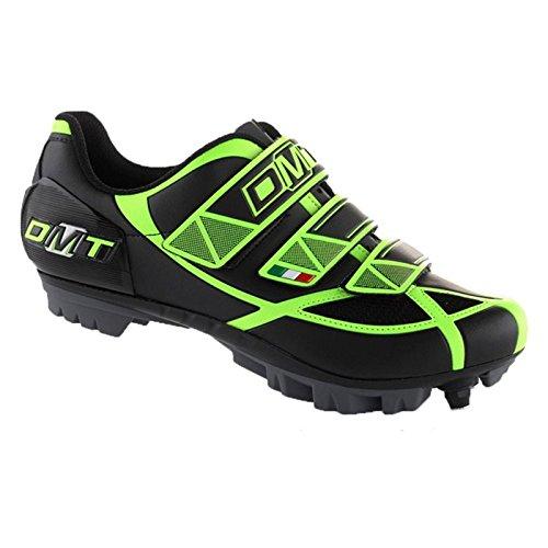 Zapatillas DMT robur MTB Negro/Amarillo Fluo N ° 41
