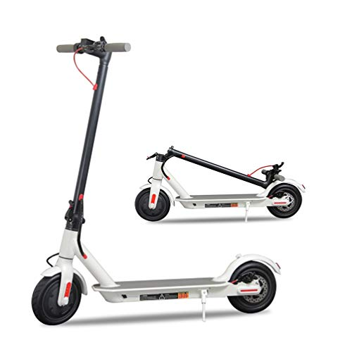 Emaxusa Electric Scooter for Adults, UL Certified Premium Foldable Motorized Scooter 8.5' Tires,300W Motor Propels,Max Speed of 15.8 MPH,Up to 16 Miles,Long Range Battery