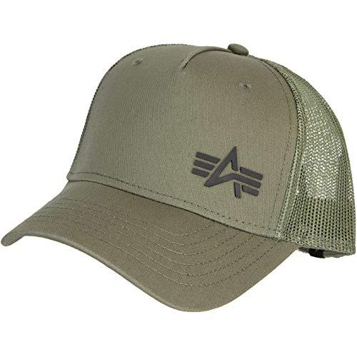 Alpha Industries Gorra con logotipo pequeño gris oscuro Talla única