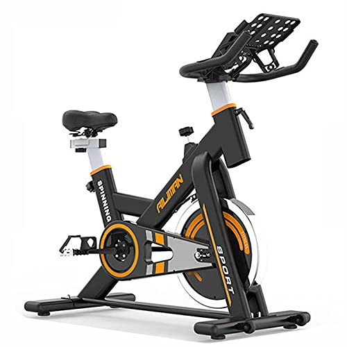 Spinning Bike Bicicletta per La Palestra per La Palestra Domestica, Bike di Rotazione, Bicicletta Ferma da Interno con Supporto per Telefono Cellulare E Monitor Digitale