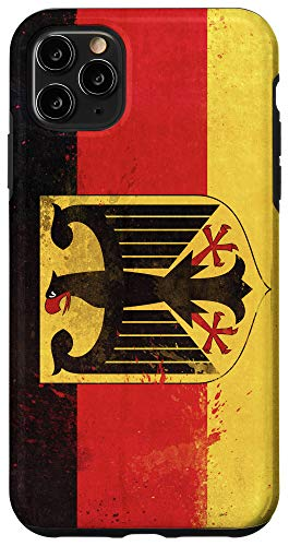 iPhone 11 Pro Max Germany Flag German Gift Phone Case