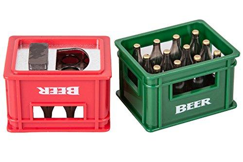Flaschenöffner mit Magnet Bierkiste Gadget and Gifts.