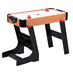 Indoor Gaming Tables AND Folding Indoor Gaming Tables FOLDING TABLE DIMENSIONS OPEN DIMENSIONS: (H)60cm x (L)81cm x (W)43cm FOLDED DIMENSIONS: (H)123.5cm x (D)36cm x (W)43cm REGULAR SPORTS TABLE DIMENSIONS : (H)65cm x (L)69cm x (W)36cm Easy to Assemb...