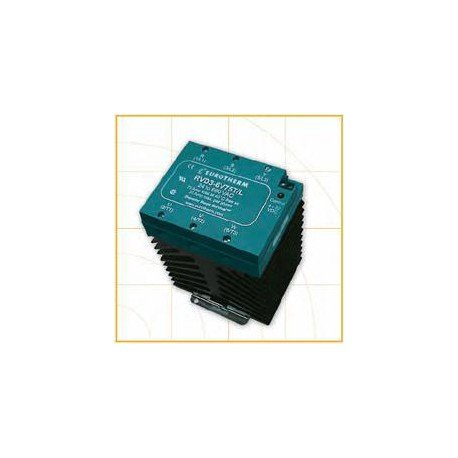RVA3 6V75T/H Continental DIN Rail Three Phase Solid State Relay