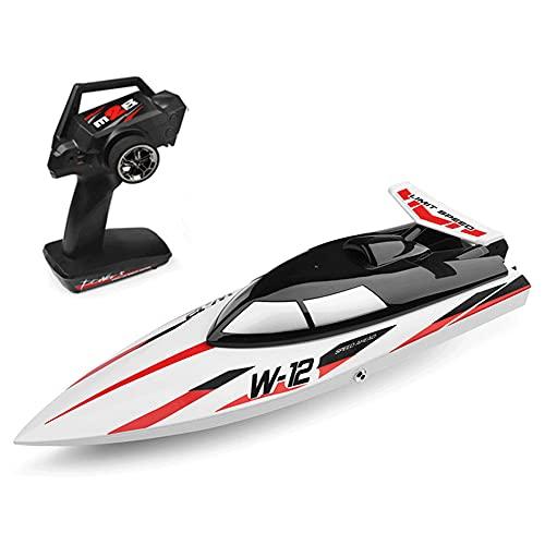 WANGCH ハイシミュレーションリモートコントロールベッセルモデル玩具/ワイヤレス高速2.4GRCレーシングボート/水冷冷却アンチターンオーバーRCスピードシップ/ 35 Km/hレーシングホバークラフト