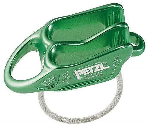 PETZL Belay Dispositivo de Seguridad, Unisex Adulto, Verde, Talla única