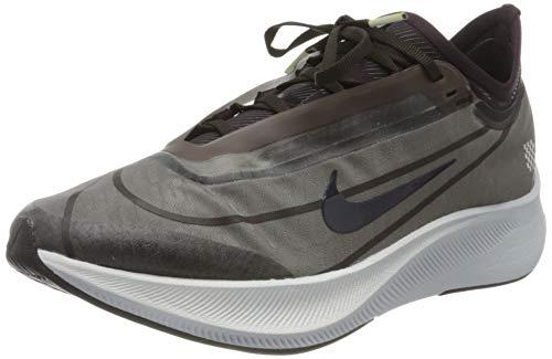 Nike Women's WMNS Zoom Fly 3 PRNT PRM Trail Running Shoes, Multicoloured Black Blackened Blue Burgundy Ash 001, 7 UK