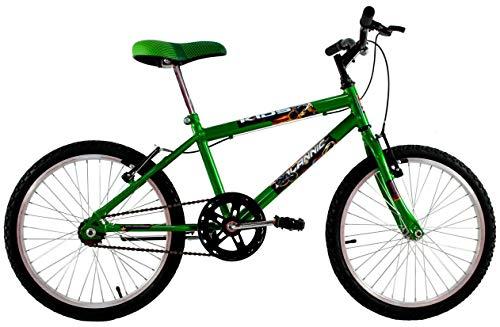 Bicicleta Infantil Aro 20 Masculina Cross Kids Verde Neon