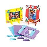 Marcos de Fotos de Espuma para Decorar y Personalizar. Manualidades Creativas para Niños (Pack de...