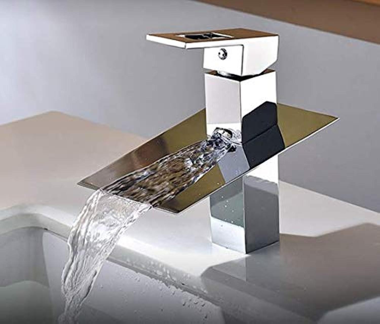 Wasserhhne für Waschbecken Waschbecken Wasserhhne Wasserhahn Wasserfall Chrom