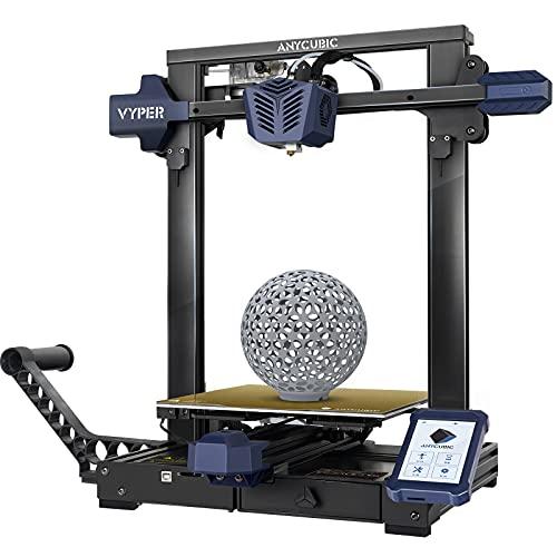 Stampante 3D ANYCUBIC Vyper, design della struttura integrata con scheda madre silenziosa TMC2209 a 32 bit e piattaforma magnetica, dimensioni di stampa grandi 9.6'(L) x9.6'(W) x10.2'(H)