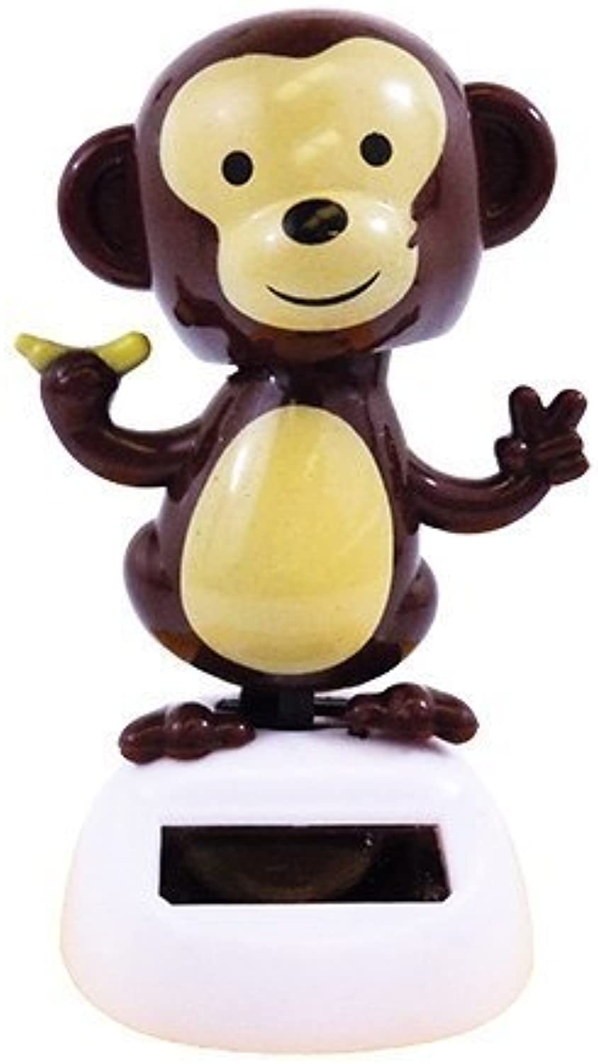 Solar Powerouge Dancing Monkey Model  by Toys &  ld