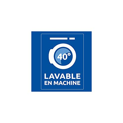 Bleu Câlin Couette 4 Saisons 1 Personne, 3 Couettes en 1, Blanc, 140x200 cm, KTD