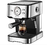 OGUAN Máquina de café, Hogar semiautomático del café express de la máquina del fabricante y 20 bares Cappuccino Latte Leche Espuma Cafetera 220V for la visualización de temperatura Cafetería Tienda Fi