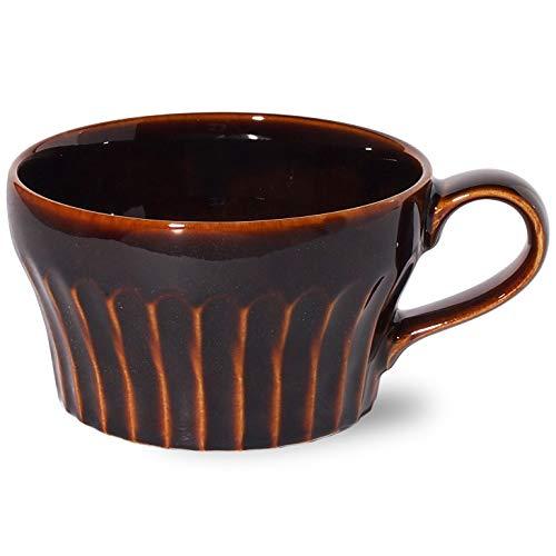 みのる食器『美濃焼 濃釉鎬 スープカップ』