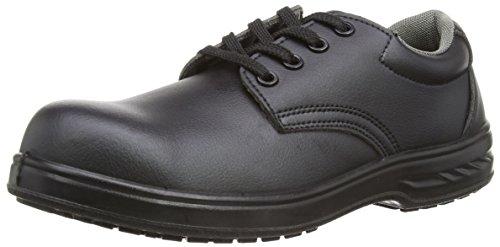 Portwest Steelite Laced Safety Shoe S2, Herren Sicherheitsschuhe, Schwarz, 43 EU (9 UK)