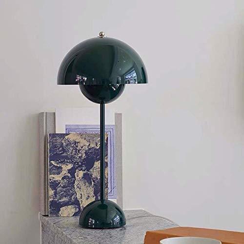 Lámpara de escritorio Lámpara de lectura LED con forma de maceta de estudio de estilo minimalista nórdico, sala de estar, dormitorio, hotel, club, decoración, iluminación, 23 * 50 CM (color:rosa)
