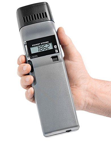 Checkline PK2X Pocket Stroboscope Complete Kit - Flash Range: 30 - 12500 RPM/FPM