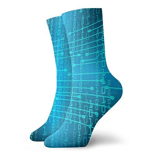 Future Technology Socken für Herren und Damen, leicht, kühl, bequem, geeignet für alle Aktivitäten bei jedem Wetter