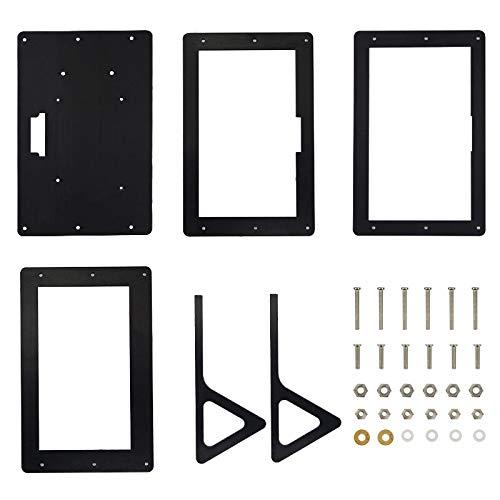 weichuang Elektronisches Zubehör Elektronikzubehör 17,8 cm Bildschirm Split Style Acryl Schutzhülle passend für C0960 für RPi Elektronikzubehör