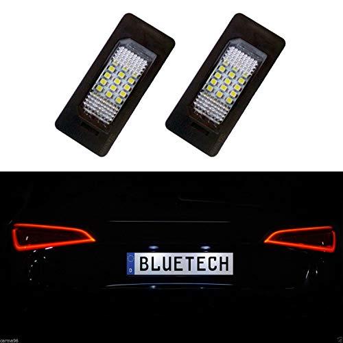 LED Kennzeichenbeleuchtung ohne Fehlermeldung mit E-Prüfzeichen Eintragungsfrei AD PC